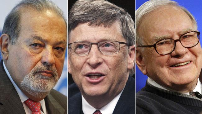 Самых богатые люди мира их